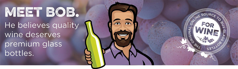 quality wine deserves premium glass bottles